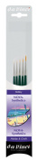 Da Vinci 4237 Nova Miniature 5 Brush Set for Spotting, Retouching or Detail Work