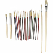 Sax Slightly Imperfect Quality Brush - Assorted Sizes - Set of 42 - Assorted Colours