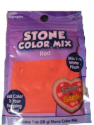 Stone Colour Mix Red