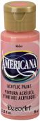 DecoArt Americana Acrylic Paint, 60ml, Melon