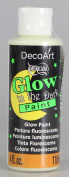 DecoArt DS50-10 Glow-in-the-Dark Paint, 120ml