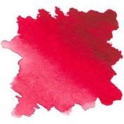 Daler Rowney Aquafine Watercolour Crimson Lake half pan