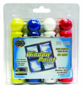 Dabby Window Paint - 4-Pack Clamshell