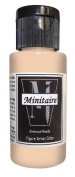Badger Air-Brush Company, 60ml Bottle Minitaire Airbrush Ready, Water Based Acrylic Paint, Humanoid Flesh