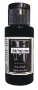 Badger Air-Brush Company, 60ml Bottle Minitaire Airbrush Ready, Water Based Acrylic Paint, Raven Black .