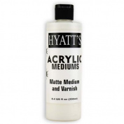 Hyatt's Acrylic 240ml Matte Varnish