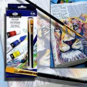 Royal & Langnickel Acrylic Paint, 12-Piece