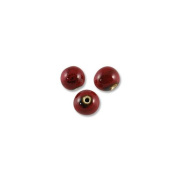 Red Porcelain Bead 12mm