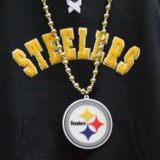 NFL Pittsburgh Steelers Team Logo Beads