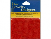 10/0 Transparent Seed Beads, 5D-Red