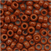 Toho Round Seed Beads 6/0 #46L 'Opaque Terra Cotta' 8 Gramme Tube