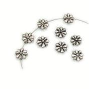 Flower Leaf Bali Style Antique Tibetan Silver Findings Jewellery Making DIY Spacer Beads