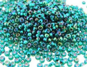 Miyuki Round Seed Bead Size 11/0 8.5g Silverlined Emerald AB