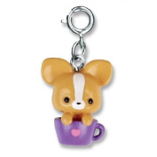 High Intencity CHARM IT! PUP IN CUP Bracelet Charm