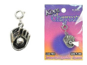 Koolcharmz Baseball & Glove Dangling Charm