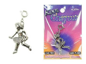 Koolcharmz Female Tennis Player Dangling Charm