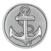 Ginger Snaps ANCHOR SNAP SN21-08 Interchangeable Jewellery Snap Accessory