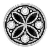 Ginger Snaps CARAVAN - BLK/WHT SN05-42 Interchangeable Jewellery Snap Accessory