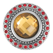 Ginger Snaps HEIRLOOM - TOPAZ SN05-69 Interchangeable Jewellery Snap Accessory