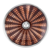 Ginger Snaps RADIUS - BROWN SN05-37 Interchangeable Jewellery Snap Accessory