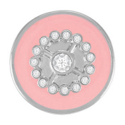 Ginger Snaps GIRLY GIRL - PINK SN05-20 Interchangeable Jewellery Snap Accessory