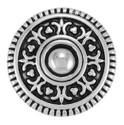 Ginger Snaps VINTAGE SHIELD SN05-08 Interchangeable Jewellery Snap Accessory
