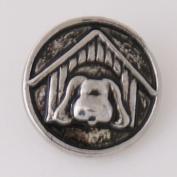 Chunk Snap Charm Dog House 20 mm