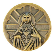 Ginger Snaps BRASS SAINT MARY SN03-14 Interchangeable Jewellery Snap Accessory