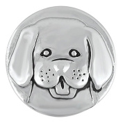Ginger Snaps DOG HEAD SN20-45 Interchangeable Jewellery Snap Accessory
