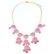 Bubble Necklace Pink I