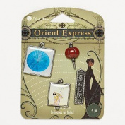 Blue Moon Beads Orient Express 4 Pc Metal Charms Asian Designs