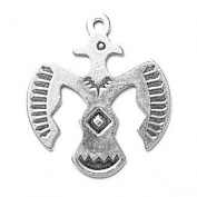 Gift Boxed Sterling Silver Thunderbird Charm Sun Jewellery