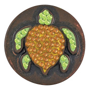 Ginger Snaps TURTLE SNAP SUGAR SN32-27 Interchangeable Jewellery Snap Accessory