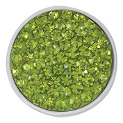 Ginger Snaps OLIVINE SUGAR SNAP SN32-11 Interchangeable Jewellery Snap Accessory