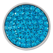 Ginger Snaps BLUE ZIRCON SUGAR SNAP SN32-08 Interchangeable Jewellery Snap Accessory