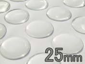 100 Pcs. 25mm Circle Epoxy Stickers