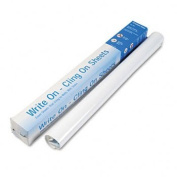 Write On, Cling On Easel Pad, Unruled, 27 x 34, White, 35 Sheets/Pad