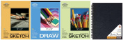 Pro Art Drawing and Sketching Paper Value Pack