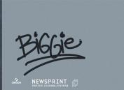 Canson Biggie Newsprint Pad - 46cm x 60cm - 100 Sheet Pad