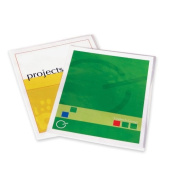 Fellowes - Self-Adhesive Pouches, Ltr,5Mil,28cm - 1.3cm x 23cm ,5/PK,CL, Sold as 1 Package, FEL 52205
