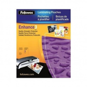 Fellowes 52225 Llamination Pouches Glossy Letter 3 mil 50 pack