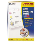 Cleer Adheer Laminating Film, 2 mil, 9 x 12, 50/Box