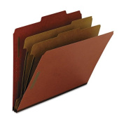 Smead Recycled Classification File Folder , Red