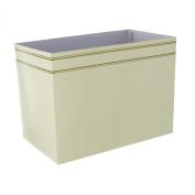 Cream and Gold Gift Box