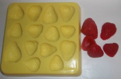 Strawberry Halves Candle & Soap Mould