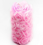 Rose Candle Mould Silicone Soap Mould Candle Mould DIY Candle Making Mould