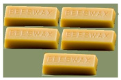 Pure Golden Tan Beeswax 5 30ml cute block 150ml pure beeswax