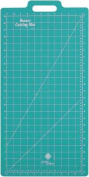 June Tailor 33cm -by-60cm Gridded with 28cm -by-60cm Grid Rotary Mat With Handle