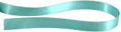 Kel-Toy Double Face Satin Ribbon, 1.6cm by 25-Yard, Tiffany Blue