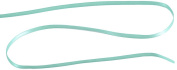 Kel-Toy Double Face Satin Ribbon, 0.3cm by 50-Yard, Tiffany Blue